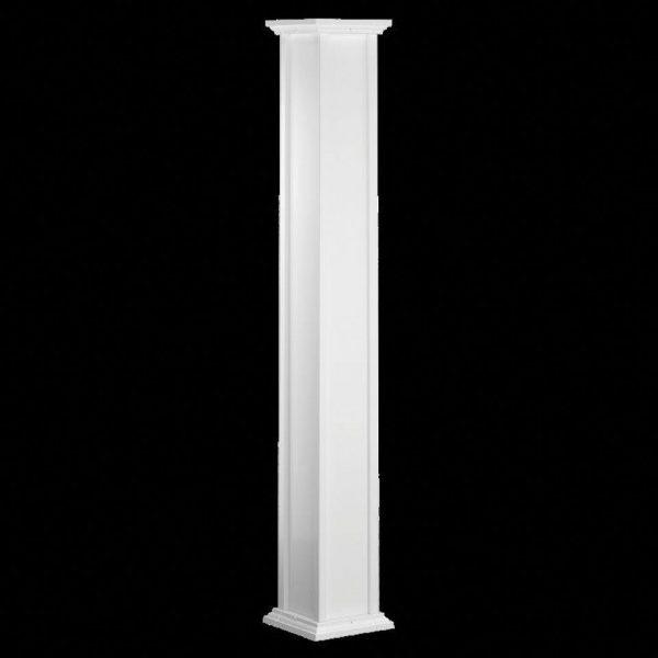 Aluminum Columns - Recessed Column Assembly