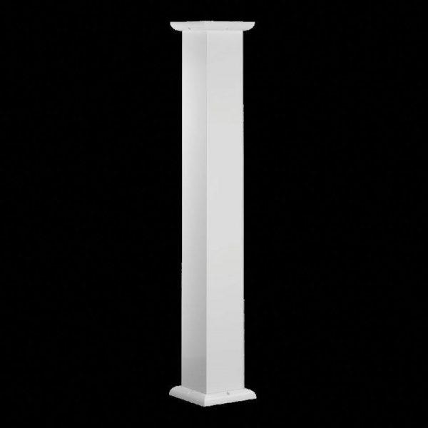 Aluminum Columns - Square Smooth
